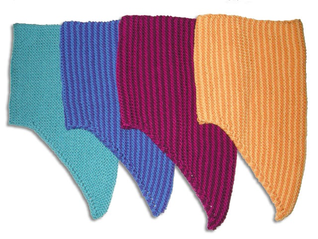Sun Today Garter Stitch Neck Warmer Free Knitting Pattern