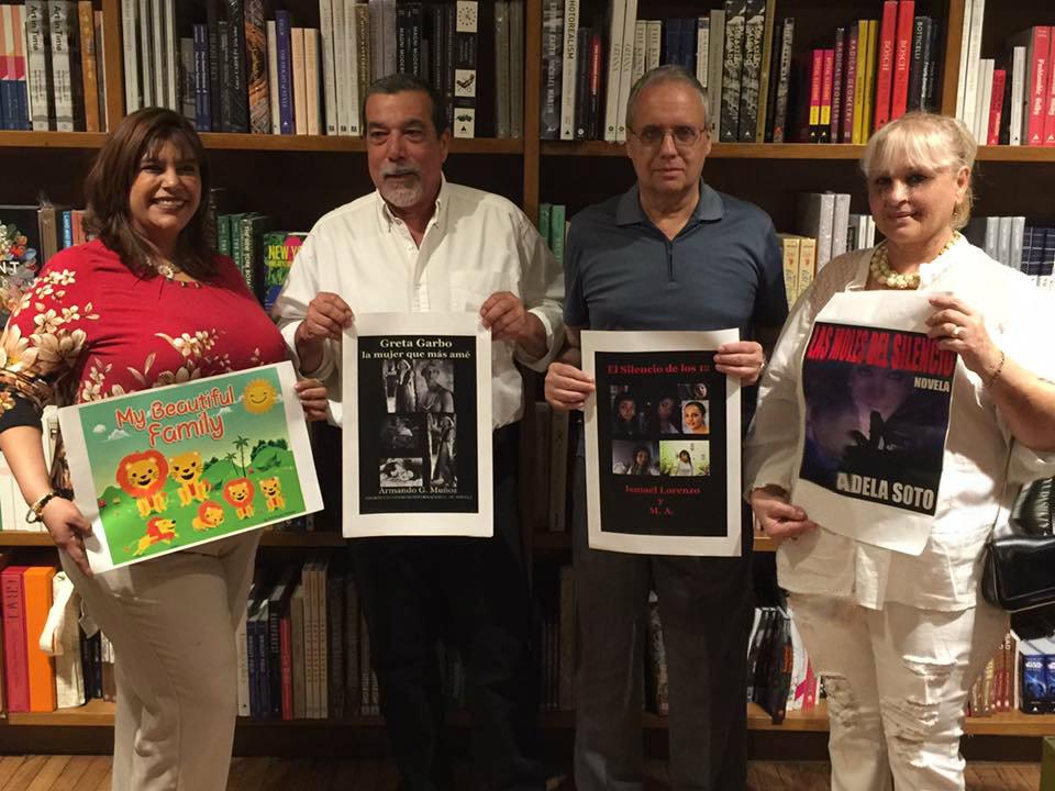 PRESENTACION DEL PRIMER PREMIO EN NOVELA REINALDO ARENAS 2016 DE LA ESCRITORA ADELA SOTO