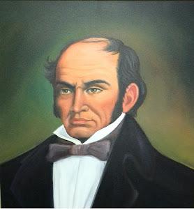 """Oleo de nuestro epónimo """"Don Simón Rodríguez"""""""