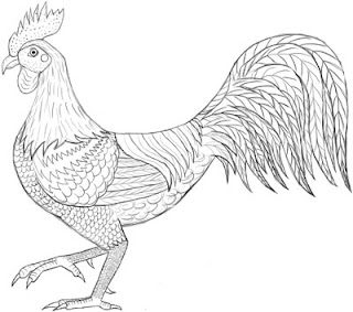 Adult Coloring Pages Farm Animals