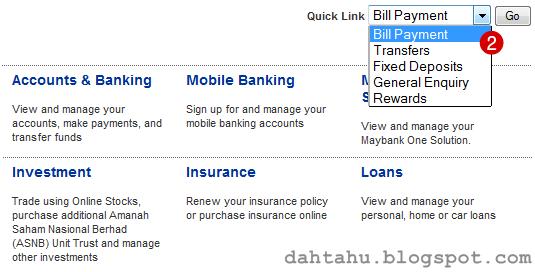 Maybank2u Maybank Transfer ke Tabung Haji 1-2