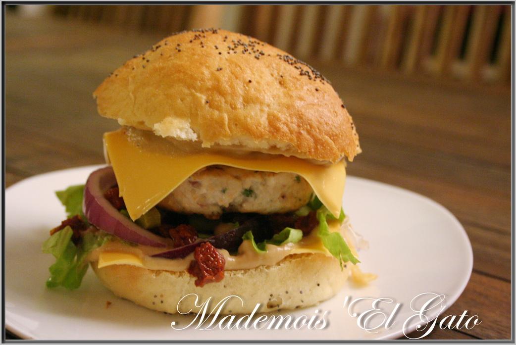 mademois 39 el gato hamburger maison et sa sauce aux oignons tomber. Black Bedroom Furniture Sets. Home Design Ideas