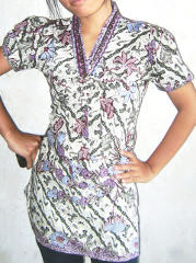 baju batik model remaja