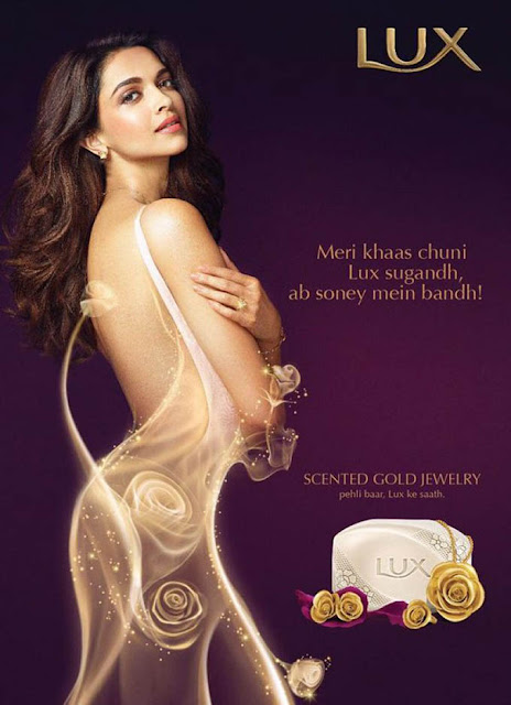 Deepika Padukone Photoshoot for Lux soap ad