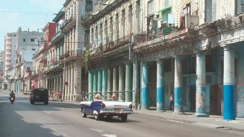 Calle Belascoain en La Habana