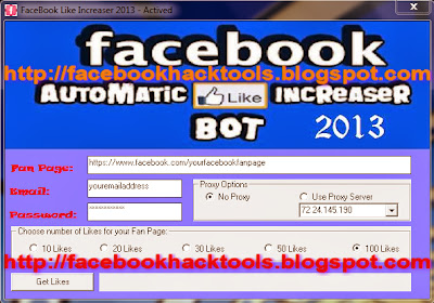 FaceBook Like Increaser 2013