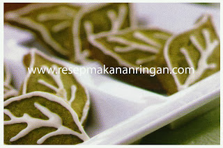 Cara Membuat Cookies : Greentea Cookies