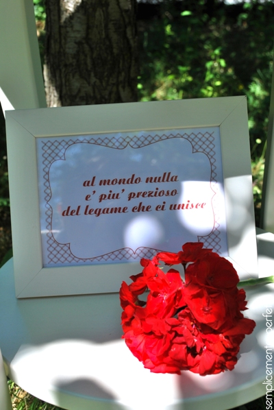 semplicemente perfetto real project compleanno mamma mamy happy birthday party