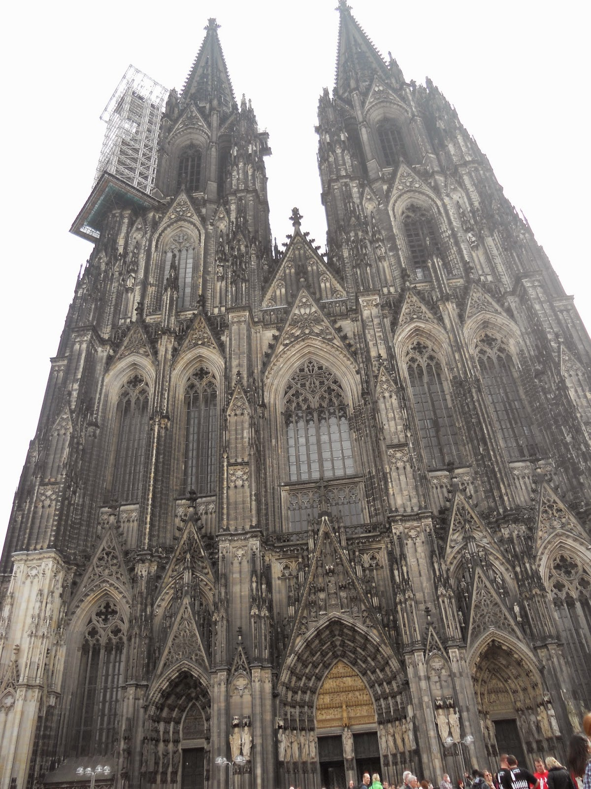 Cologne Cathedral Facade Facade of Cathedral
