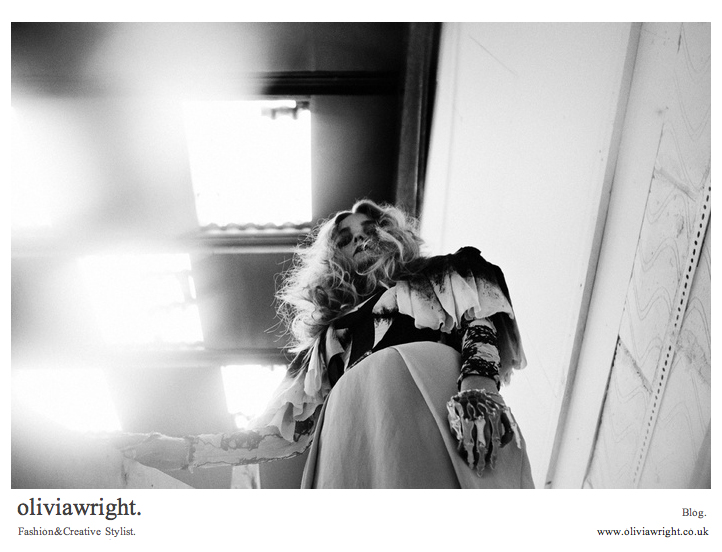 Olivia Wright . Stylist & Creative . Blog