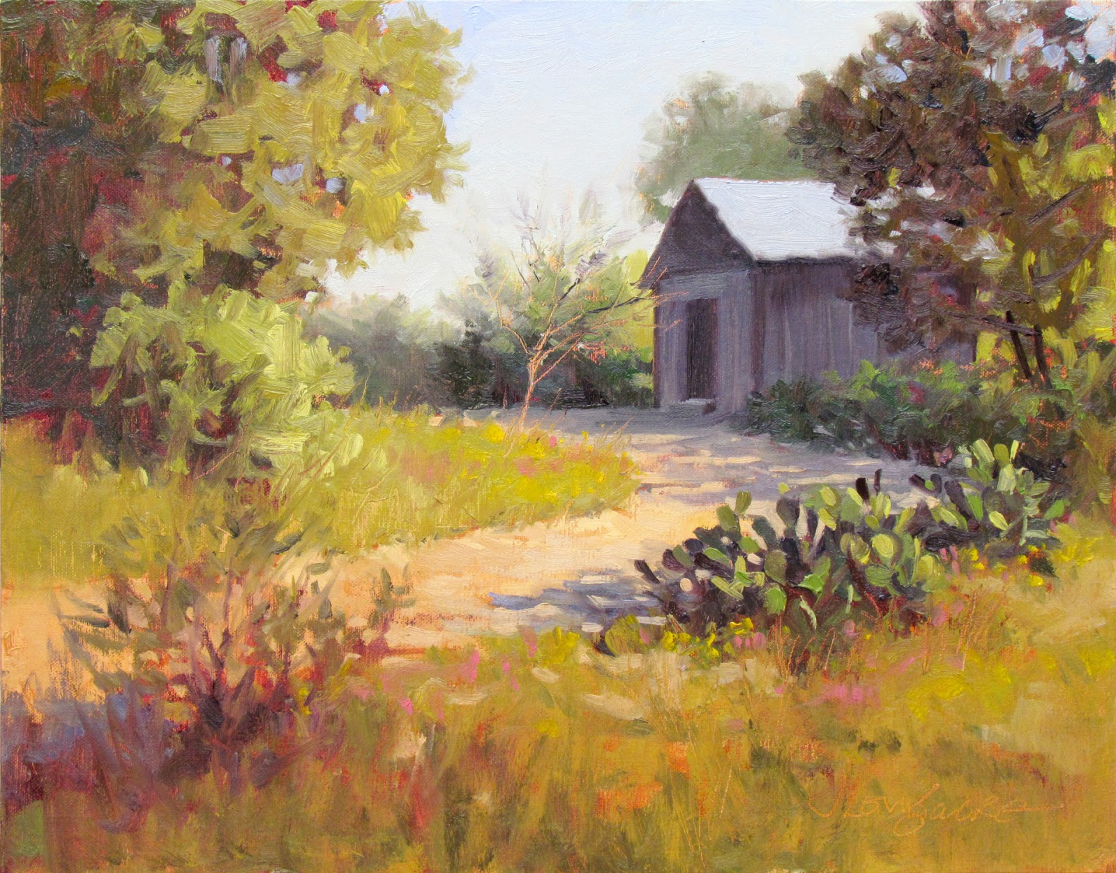 Landscape artists international may 2012 for Oil paintings for the home