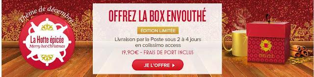 Ma box Envouthé de Noël: La Hotte épicée décembre