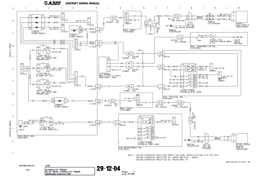 part 66 virtual school aircraft wiring and schematic diagrams wiring diagram a320 hydaulic pump