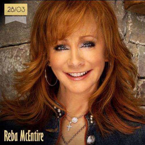 28 de marzo | Reba McEntire - @reba | Info + vídeos