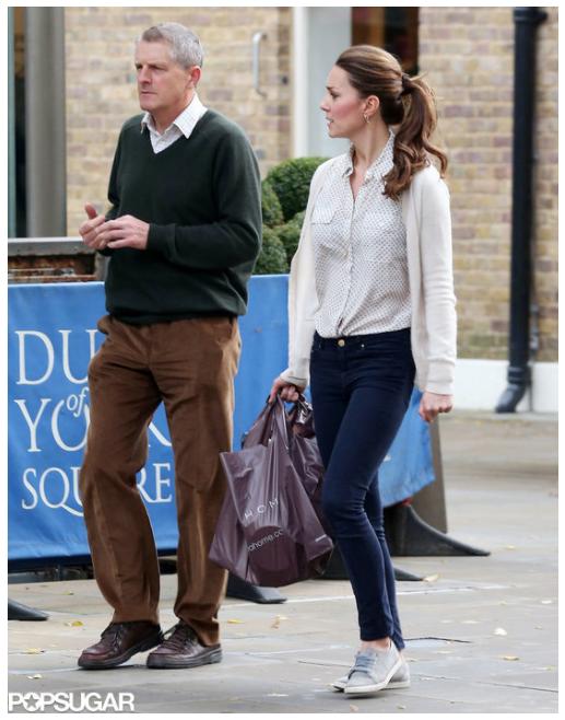 Duchess Kate Kate Photographed Shopping At Zara Home