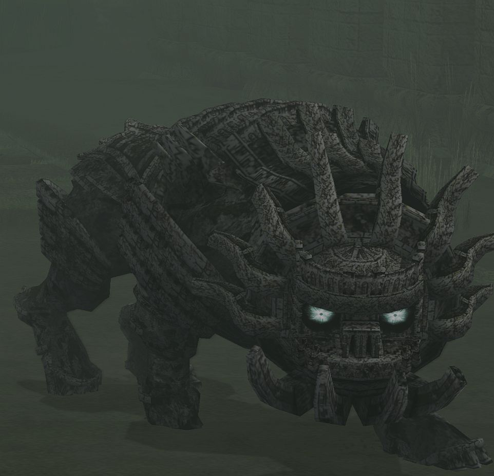 shadow of the colossus malus wallpaper