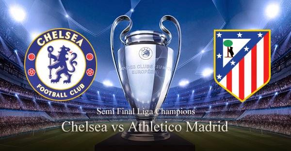 Hasil Pertandingan Leg 2 Chelsea vs Atletico Madrid 1 Mei 2014 2014