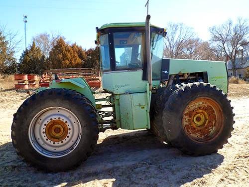 EQ-23850 Steiger Wildcat used parts