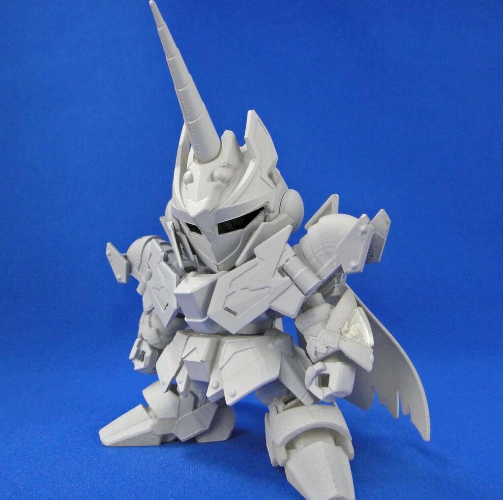 GUNDAM GUY SD BB LEGEND Knight Unicorn Gundam