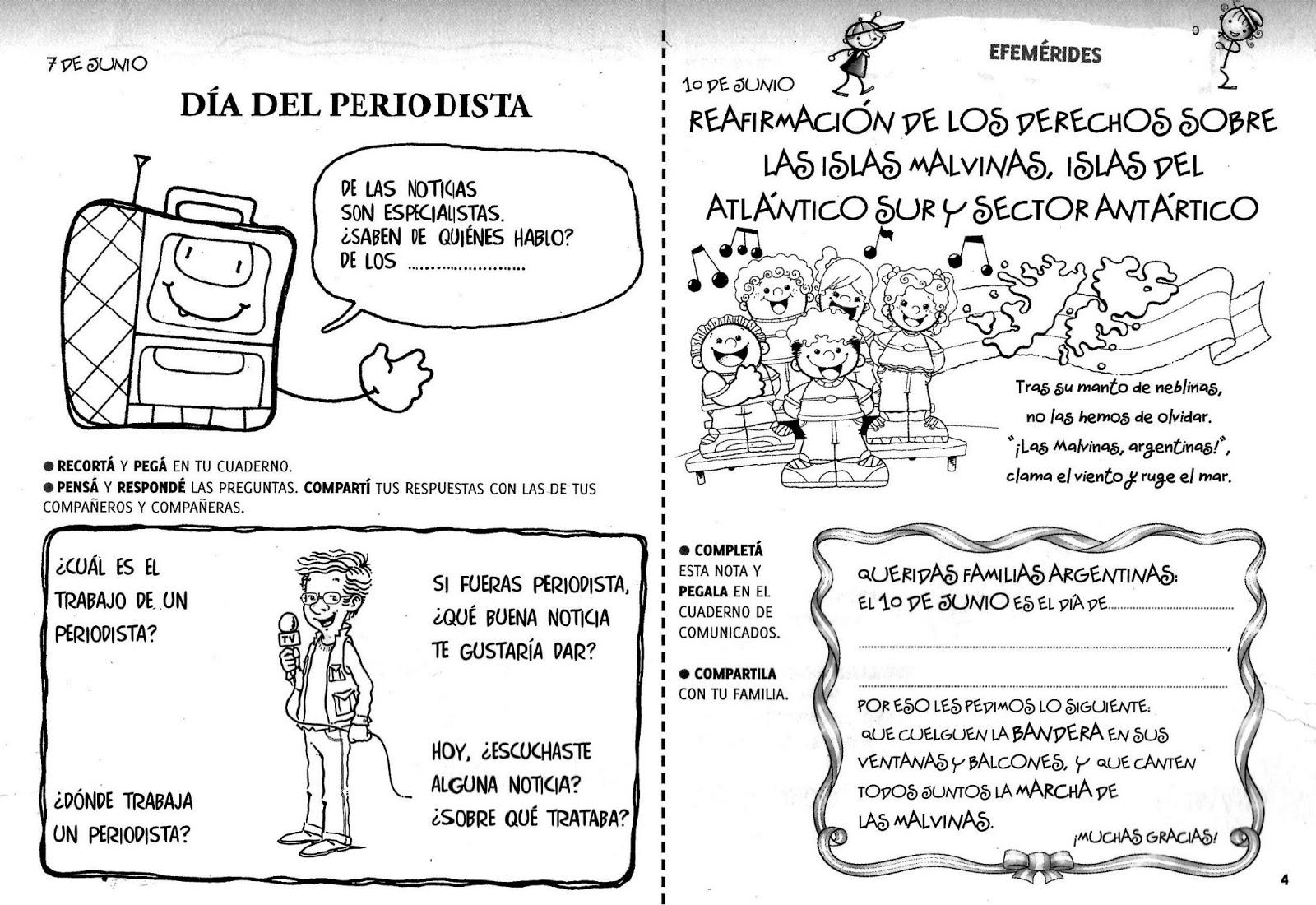 Cuadernillos de junio - primer ciclo.