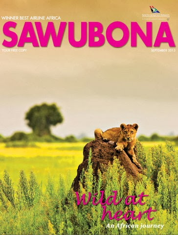My review of the breathtaking Fish River Lodge in Namibia, Published in the September 2013 Sawubona