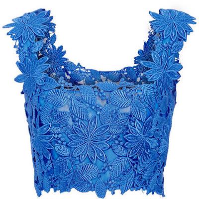 cor reveillon azul top