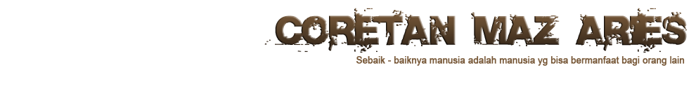 Coretan Maz Aries