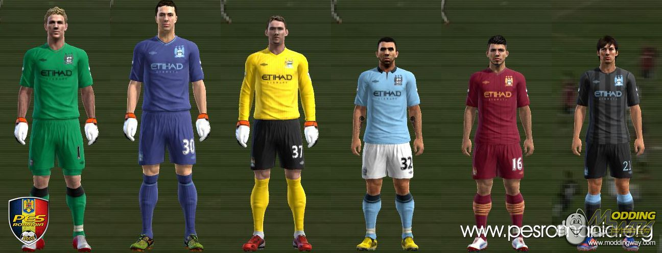 Kits Manchester City 2012 13 By SpeedShadow