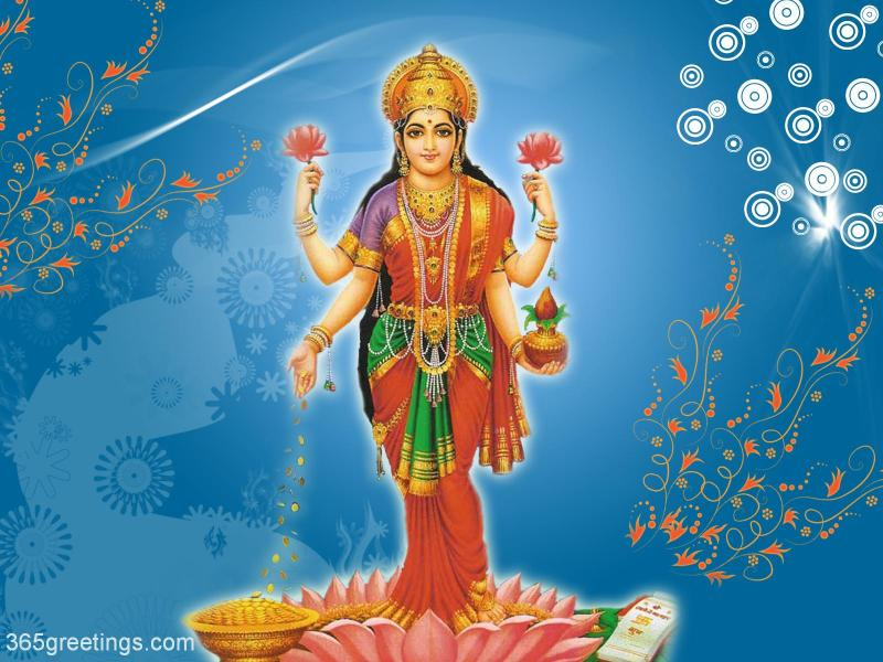INDIAN TEMPLES  Lakshmi Devi Wallpapers
