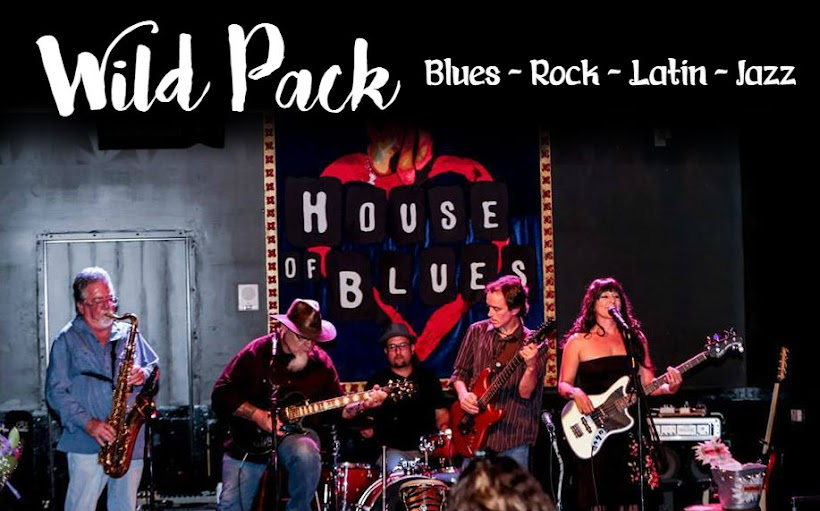 Wild Pack - Blues rock with a bite!