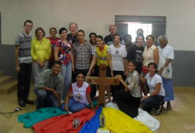 JUventude Missionária de Porto Nacional/TO participa da reunião do COMIDI e prepara acolhida da Cruz Peregrina da JMJ