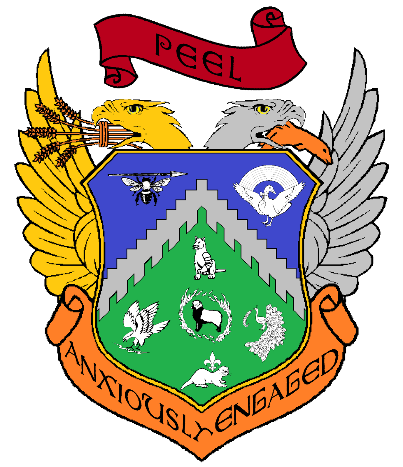 Simple Coat Of Arms Shapes So here is the coat of arms we