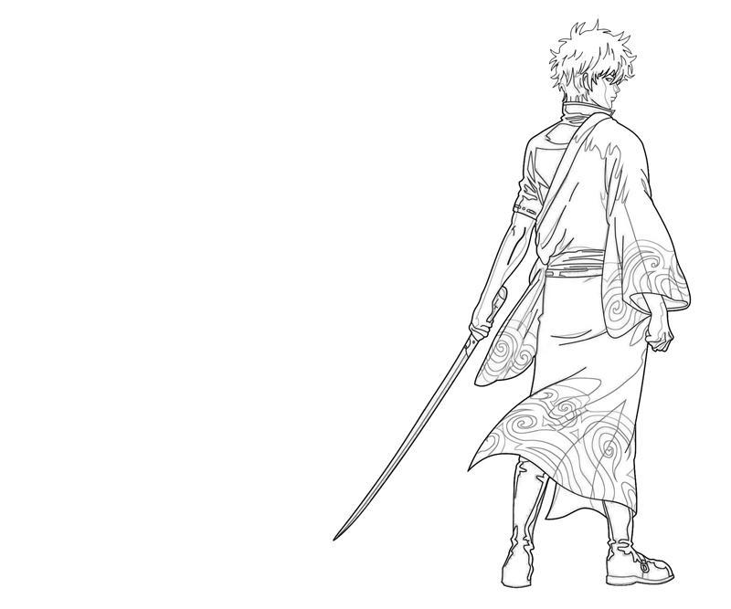 sakata-gintoki-character-coloring-pages