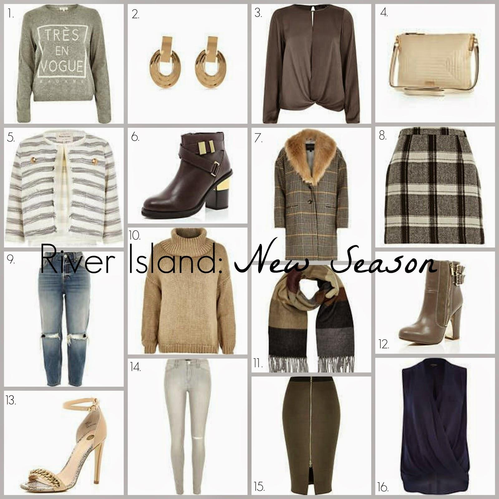 River Island New Season Clothing