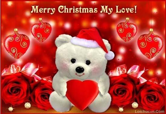 Hình ảnh đẹp tặng người yêu lễ giáng sinh
