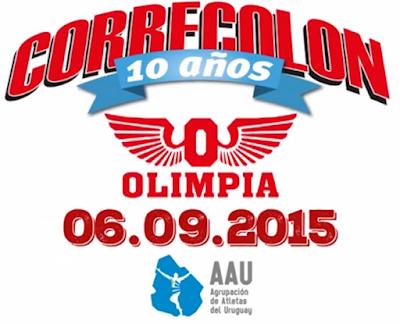 10k Corre Colón del Club Olimpia (AAU, 06/sep/2015)