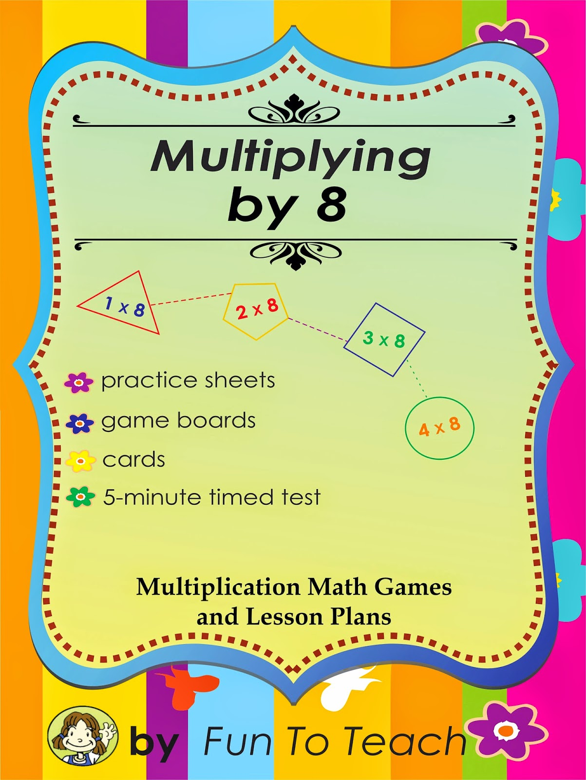 http://www.teacherspayteachers.com/Product/Multiplying-by-8-Math-Games-and-Lesson-Plan-28642