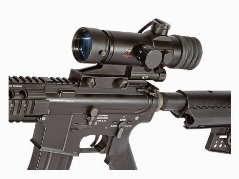 ATN ARES night vision weapon