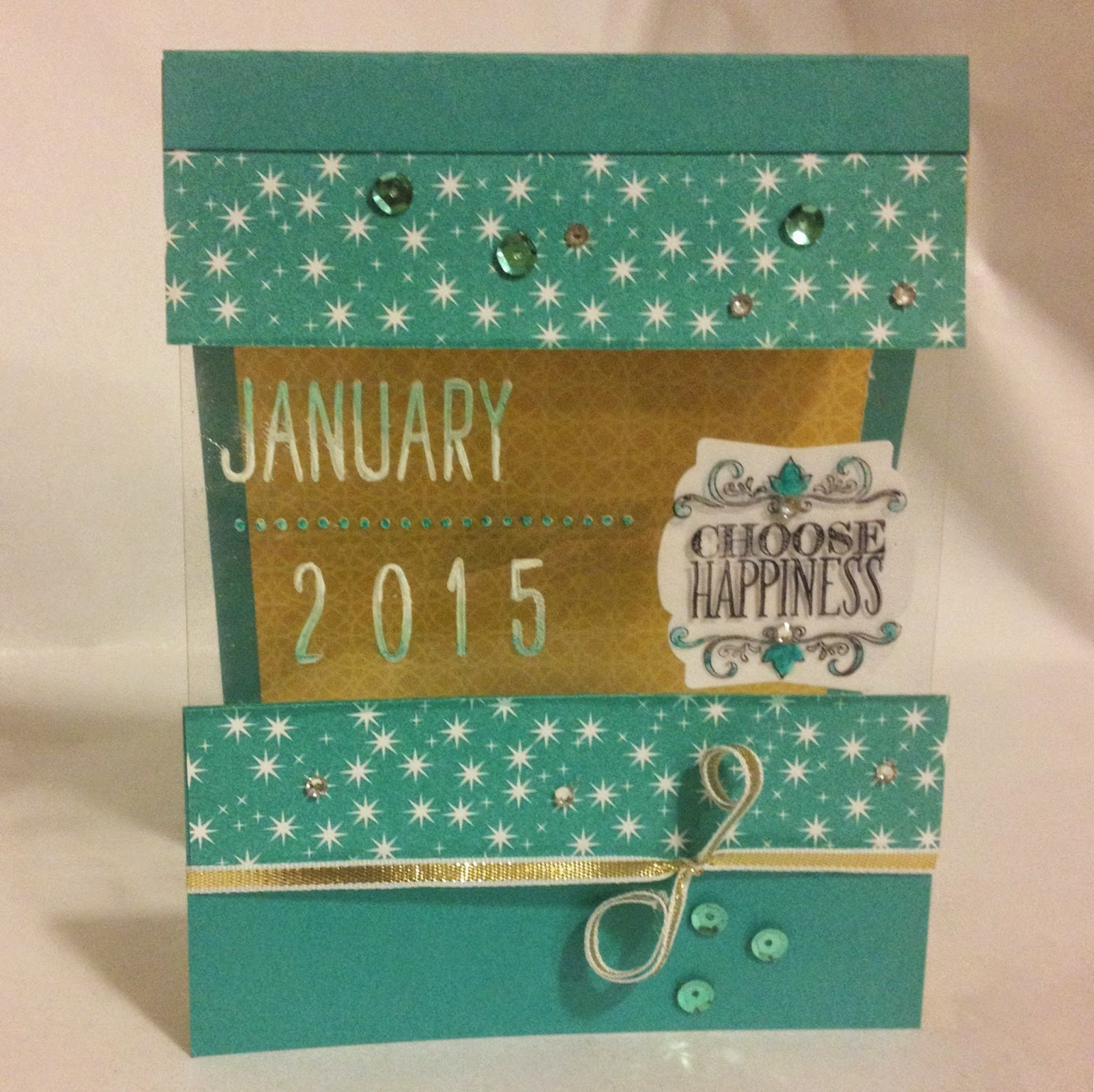Project Life Day to Day Stampin Up Choose Happiness Motley Monsters MIDNIGHTCRAFTING