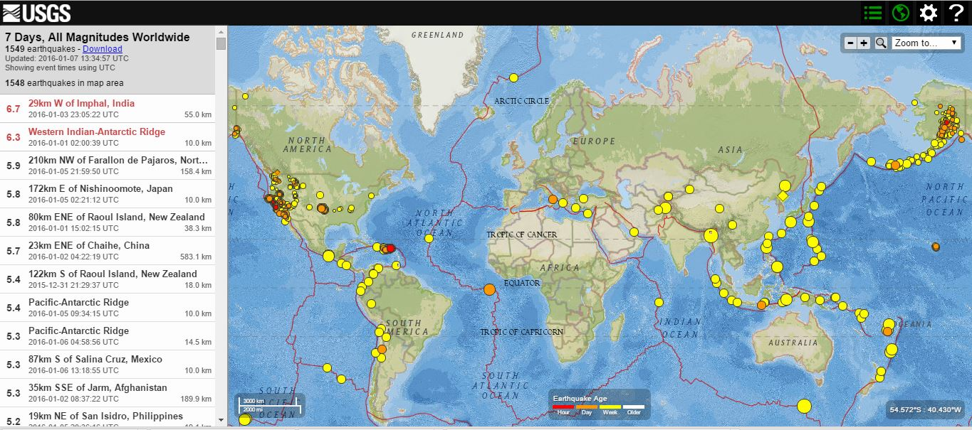 End of the age bible prophecy earthquake weekly summary 7th there has been 6 red alert earthquakes in the last 7 days gumiabroncs Image collections