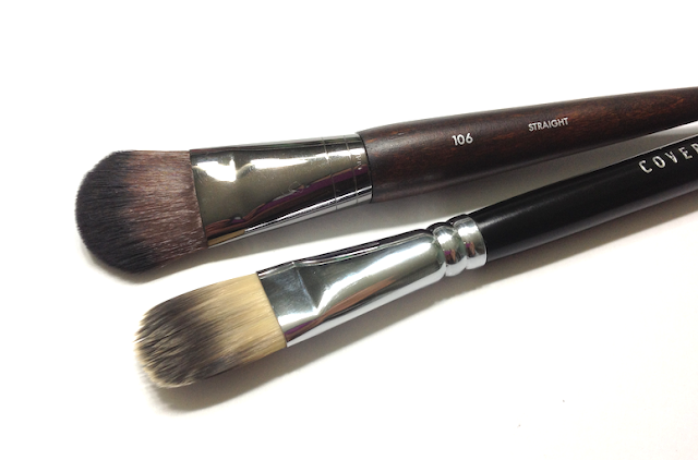 Make Up For Ever 106 Medium Foundation Brush Cover FX Foundation Brush