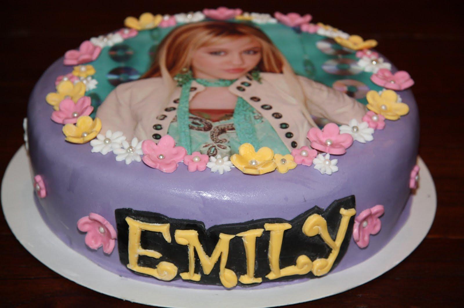 The Cake Booth Hannah Montana Cake