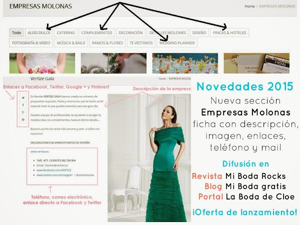¡Nueva sección de Empresas Molonas!