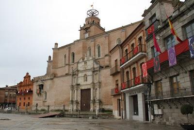 Plaza Medina del Campo. Blog Esteban Capdevila