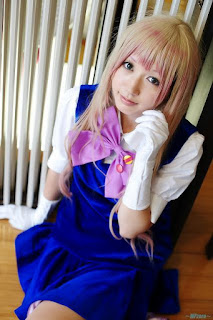 Macross Frontier Sheryl Nome Cosplay by Ameri