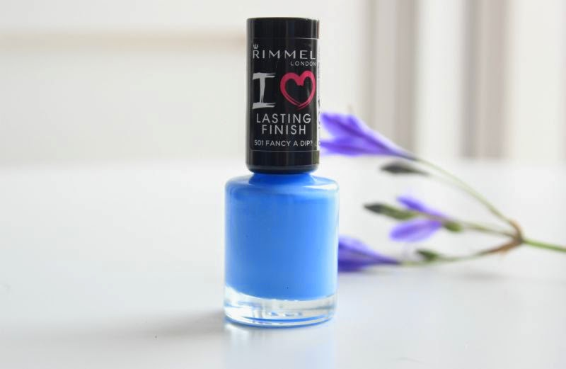 Rimmel Lasting Finish Nail Polish in Fancy a Dip