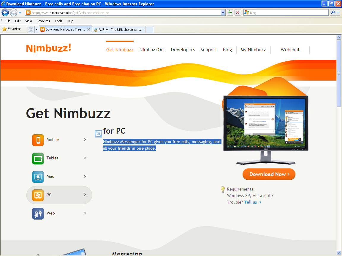 wordhub how to download nimbuzz to my pc computer and laptop