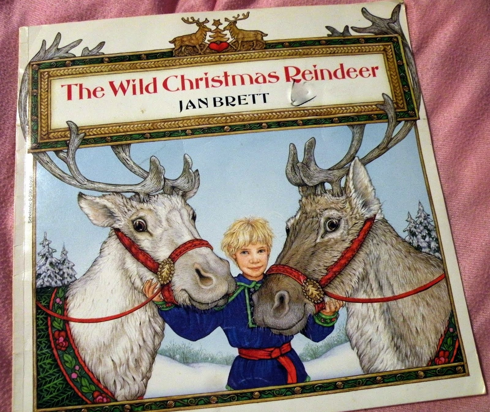 As Are All Of Jan Brett's Picture Books, The Wild Christmas Reindeer, Is  Beautifully Illustrated This Is The Story Of Teeka Who Lives In The Arctic  On