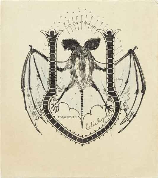 Coloriage à imprimer : Fantômes et chauve souris d