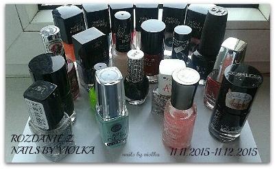 Rozdanie z Nails by Violka
